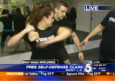 Krav Maga Worldwide on KTLA Los Angeles Morning News